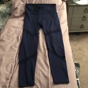 Navy XL long active wear leggings